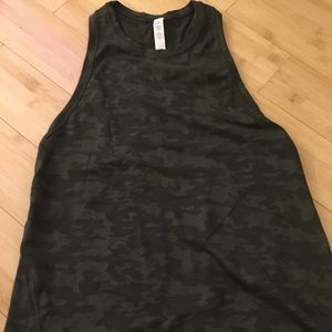 Lululemon tank top with open back